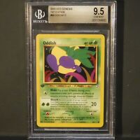 Pokemon 2000 Neo Genesis 1st Edition Oddish BGS 9.5 Gem Mint