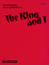 The King and I Rodgers & Hammerstein Musical Vocal Score Piano Sheet Music