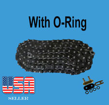 Chain 525 x 122 Black Color with O-ring Fit:Honda Shadow ACE 750