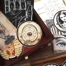 50 Vintage Fortune Teller Witch Ephemera Bohemia Scrapbook Card making Kits