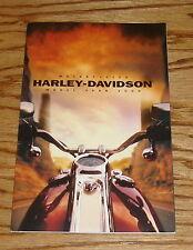 Original 2000 Harley Davidson Motorcycle Full Line Sales Brochure 00 FXSTD FXDX