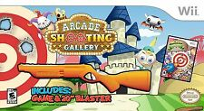 Arcade Shooting Gallery with Blaster - Nintendo Wii Bundle NEW