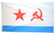 Fahne UDSSR Sowjetunion Marine Flagge sowjetische Hissflagge 90x150cm