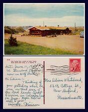 US NORTH DAKOTA CEDAR CANYON, PARK TRADING POST 1955 TO NEW BEDFORD, MASS