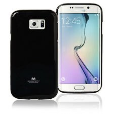 Korean Mercury TPU Case Cover for Samsung Galaxy S6 Edge Plus - Black