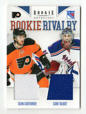 COUTURIER/ TALBOT NHL 2011-12 ANTHOLOGY ROOKIE RIVALRY JERSEYS (RANGERS,FLYERS