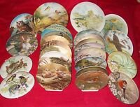 BIRD / OWLS COLLECTORS PLATES VARIOUS ISSUERS - SELECT PLATE
