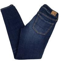 American Eagle Jegging Jeans Women's Size 6 Super Stretch Dark Wash