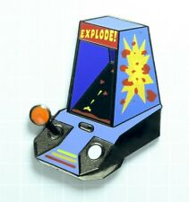 "Mini-Arcade ""Explode!"" Hard Enamel Lapel Pin Electronic Game"