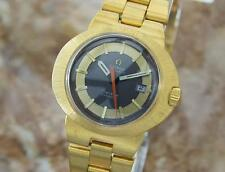 Omega Dynamic Lady Automatic 1960s Gold Plated Vintage Dress Watch LA5