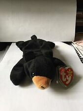 TY Beanie Baby BLACKIE 1994 ULTRA RARE with Errors