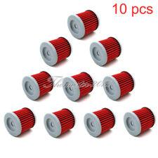 10x Oil Filter For SUZUKI DRZ400 DRZ400E DRZ400S DRZ400SM LTZ400 LTR450 QUAD ATV