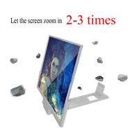 12 Inch Universal Mobile Phone Screen Magnifier 3D HD Video Amplifier Brackets