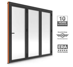 Warmcore Bi-Fold Doors 3 pane £2250