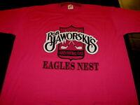 Quarterback RON JAWORSKI Ladies Football Class NO MEN ALLOWED 1990s Shirt New LG