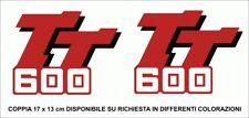 Adesivi serbatoio Yamaha TT 600 83/92 - adesivo adhesives stickers decal