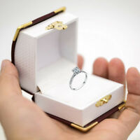 Jewelry Carrying Box Delicate Ring Packaging Case Beautiful  Box~