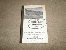 1928 1948 ford car truck chassis parts book manual 1930 1934 1938 1941 1947 V8