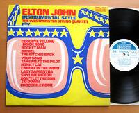Westminster String Quartet Play Elton John 1975 EXCELLENT Stereo Vinyl  2870 444