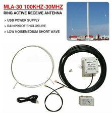 MLA-30 Loop Antenna Active Receiving Antenna For Short Wave Radio 100kHz-30MHz