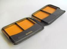 Vintage tobacciana Morocco Leather cigarette or card case 10498