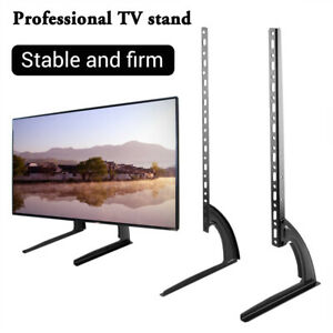 NEW TV Stand Legs Bracket Mount Base Universal Table for 32~65'' LED LCD TVs AU