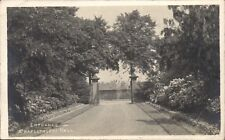 Newmillerdam near Wakefield. Entrance, Chapelthorpe Hall.