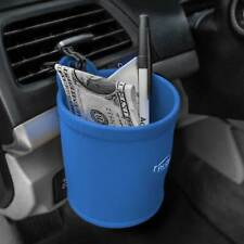 Silicone Travel Cup Holder Smartphone iPhone Galaxy Coin Holder  Blue For Auto
