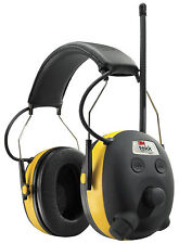 3M MP3 Input AM FM Hearing Protector Radio Headphone Safety Ear Protection