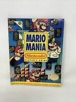 Mario Mania Nintendo Player's Guide - Official 1991 Magazine Strategy Book