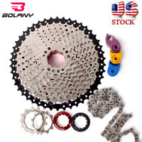 Cassette 8/9/10/11S 116/118 Links MTB Bike Chain 11-40/42/46/50 Derailleur Cogs