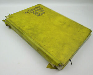 AA Greater London Street Atlas 1977 1st POOR CONDITION Only Good for Art Project