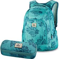 DAKINE SET Laptop Rucksack Schulrucksack FRANKIE 26L + SCHOOL CASE Mäppchen Etui