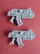 FORGEWORLD Red Scorpion Marine 2 X ORNATE BOLTERS - Bits 40K