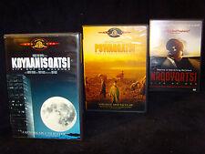 The Qatsi Trilogy: Koyaanisqatsi/Powaqqatsi/Naqoyqatsi (DVD, 2003, 3-Disc Set)