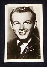 Jack Sernas 1940's 1950's Actor's Penny Arcade Photo Card