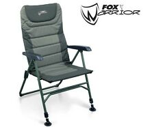 Fox Warrior Arm Chair For Carp / Coarse Fishing CBC033 FREE POST