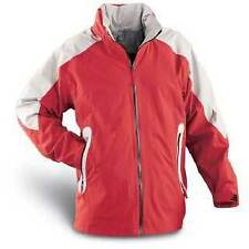 JACKET WATERPROOF GUIDE GEAR TECH BRAND RED/ SILVER TOP QUALITY VERSATILE UNISEX