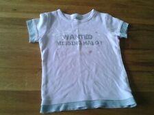 Girls 5-6 Years - Light Pink & Grey T-Shirt - Silver Missing Halo Logo