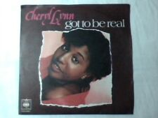 "CHERYL LYNN Got to be real 7"" ITALY NUOVO RARISSIMO UNIQUE PS"