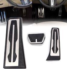 BMW Edelstahl Pedale Pedalkappen Pedalset 5er 6er 7er X3 X4 Z4