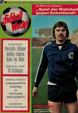 Fußball Woche 46/1973,Bundesliga,OFFENBACHER KICKERS POSTER,Uwe Bracht,