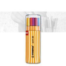 5 Stk Stabilo Point 88 Fineliner 88//44 gelb Filzstift Filzschreiber Fein NEU
