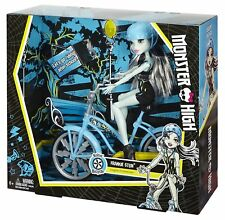 Licensed Monster High™ Frankie Stein Boltin' Bicycle & Doll Playset by Mattel