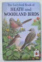 Vintage Ladybird Book–Heath and Woodland Birds–536–2'6 First Edition–Good/VGood