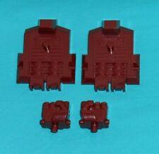 original G1 Transformers COMPUTRON PARTS LOT #9 r+l fist & r+l foot feet