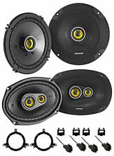 Kicker 46CSC Front + Rear Speaker Replacement Kit For 2002-2006 Dodge Neon