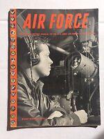 US Air Force Magazine October 1945 WWII Era Japs Surrender