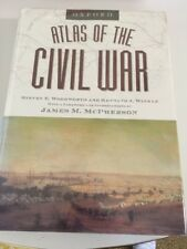 Atlas of the Civil War - Oxford, hardcover mint condition