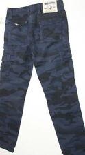 Nwt True Religion Men Camo Blue Cargo Big T Slim Pants 31 X 32 MWZA285IA6